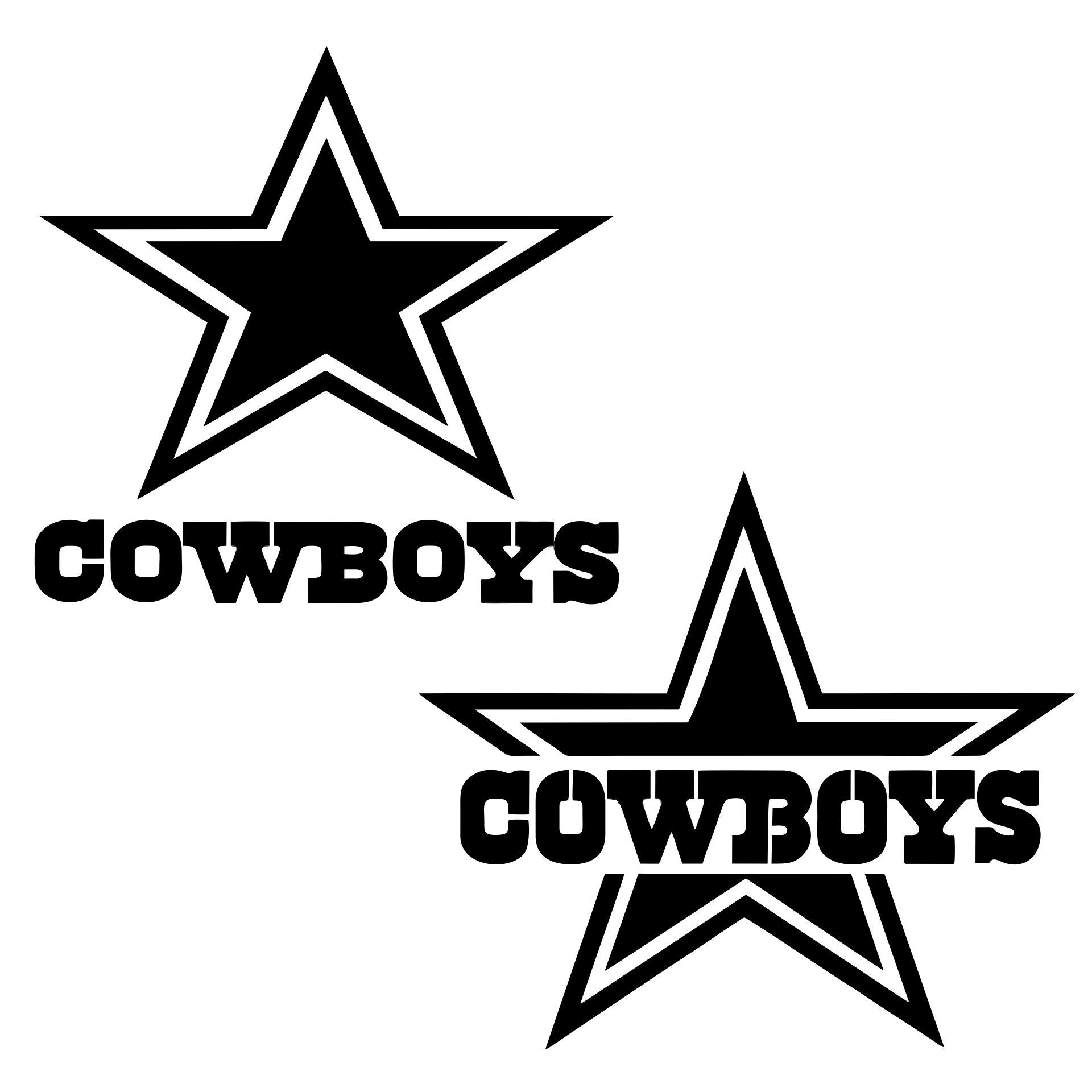 NFL Dallas Cowboys Star Stencil