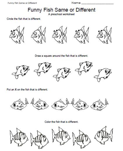 Number Names Worksheets free printables for teachers preschool : 6 Best Images of Free Printable School Worksheets Preschool ...