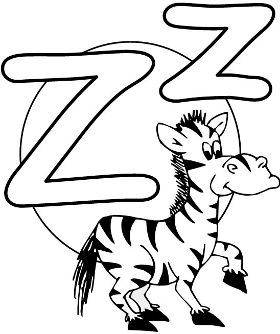 6 Images of Letter Z Printables
