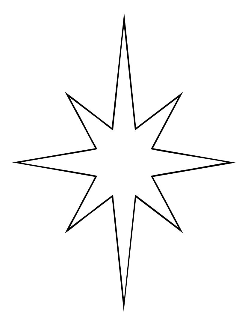 Printable Christmas Stars