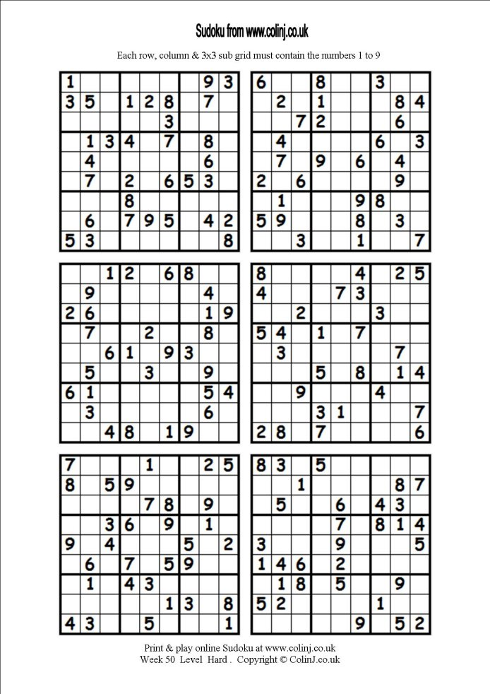 It's just a picture of Modest Printable Sudoku 6 Per Page