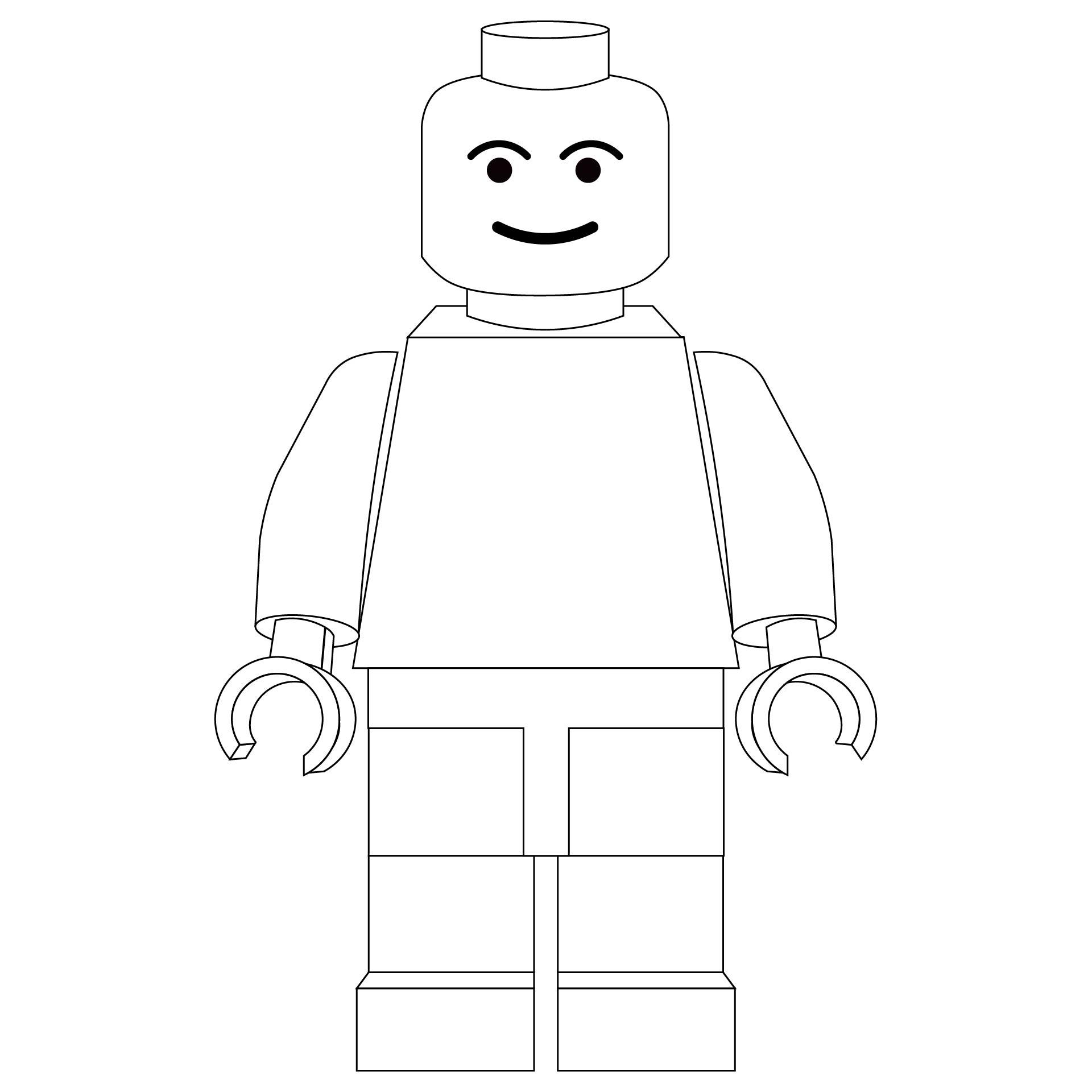 Printable LEGO People