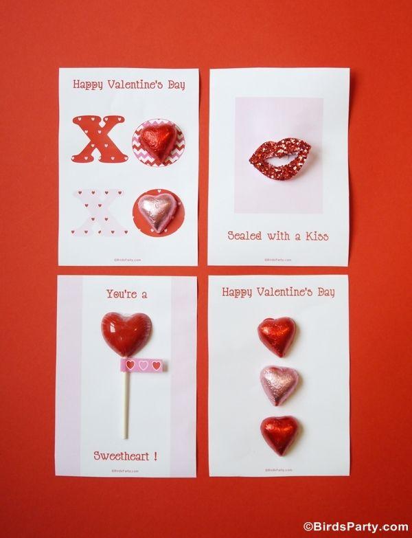 Printable Valentine's Day Card Ideas