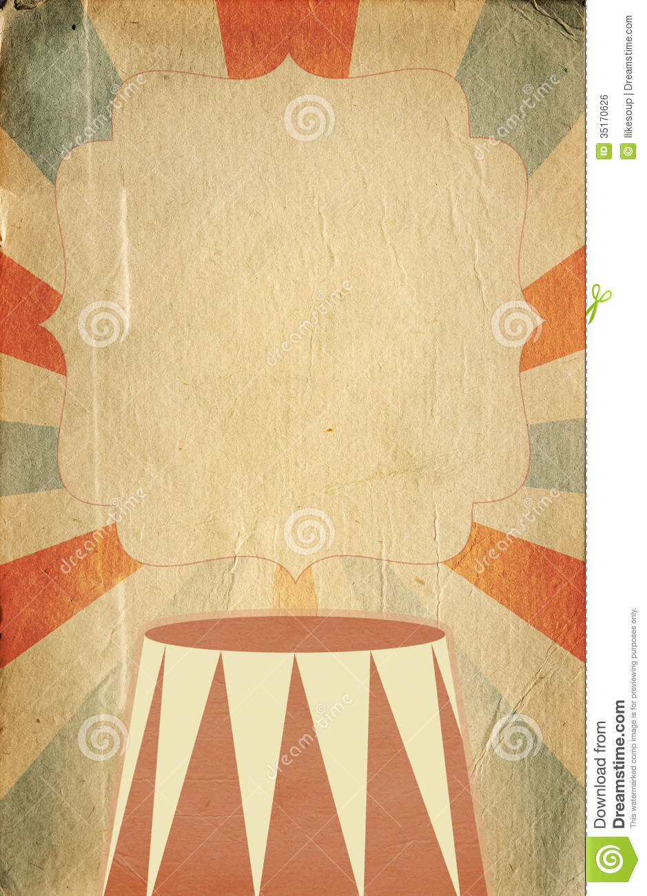 7 Images of Free Circus Printable Background