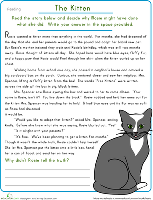 Reading Comprehension Worksheets For Grade 6 - comprehension ...