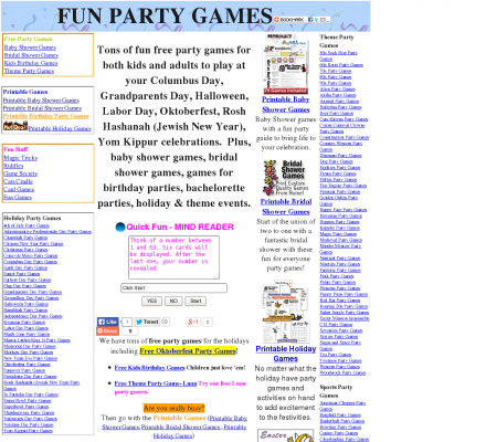 7 best images of printable games for kids birthday parties for Birthday games ideas for adults