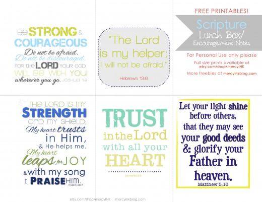 Back to School Bible Verses
