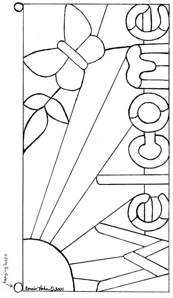 Beginner Stained Glass Patterns Free