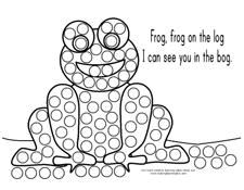 8 best images of dot painting printable sheets do dot for Do a dot art coloring pages