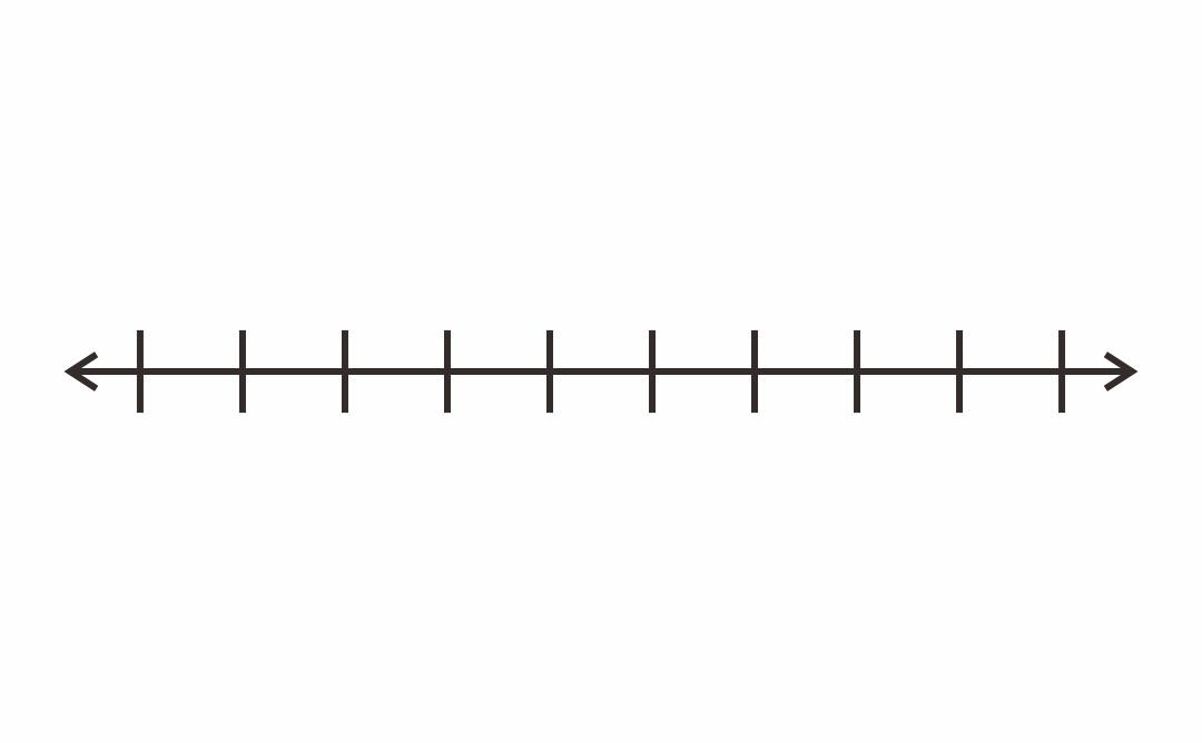 7 Best Printable Blank Number Line 1-10 - printablee.com