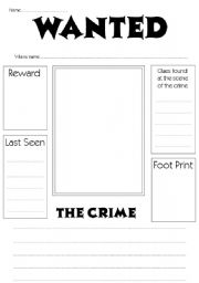 7 Best Images of Printable Wanted Poster That's Blank ...