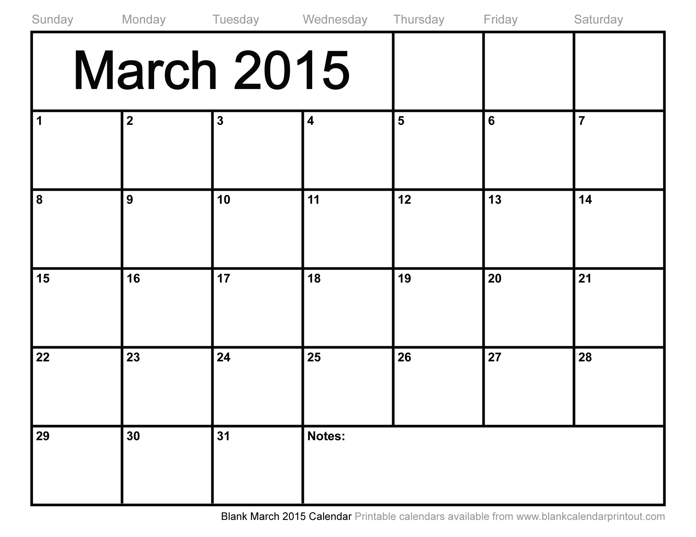 Calendar 2015 Printable February 2016