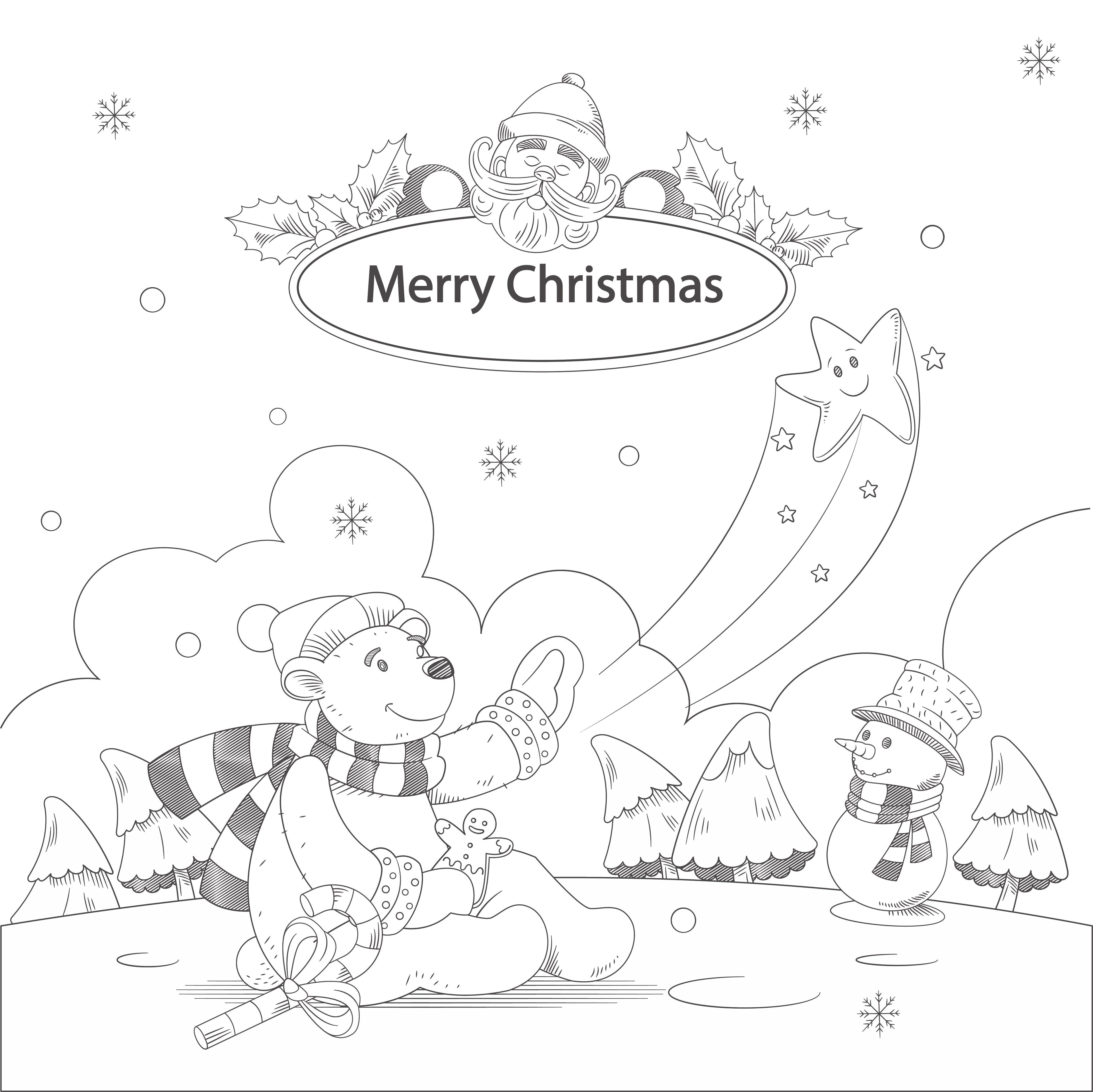 Christmas Tree Preschool Activity