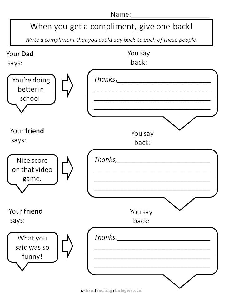 Best Images of Cognitive Skills Worksheets Printable - Cognitive ...