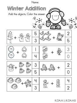 Kindergarten Math Common Core Printables - common core ...