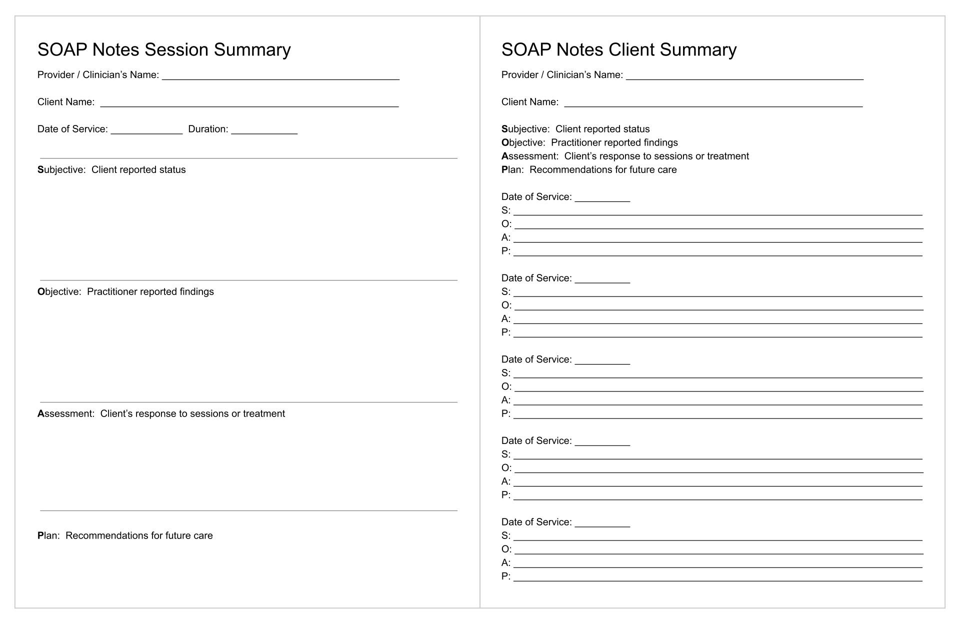 case notes social work template - 7 best images of printable counseling soap note templates