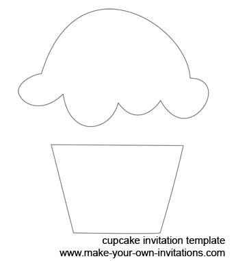 6 Images of Printable Birthday Cupcake Cutouts