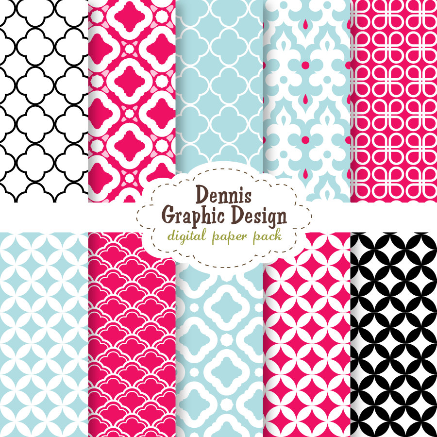 8 best images of cute printable patterns cute scrapbook