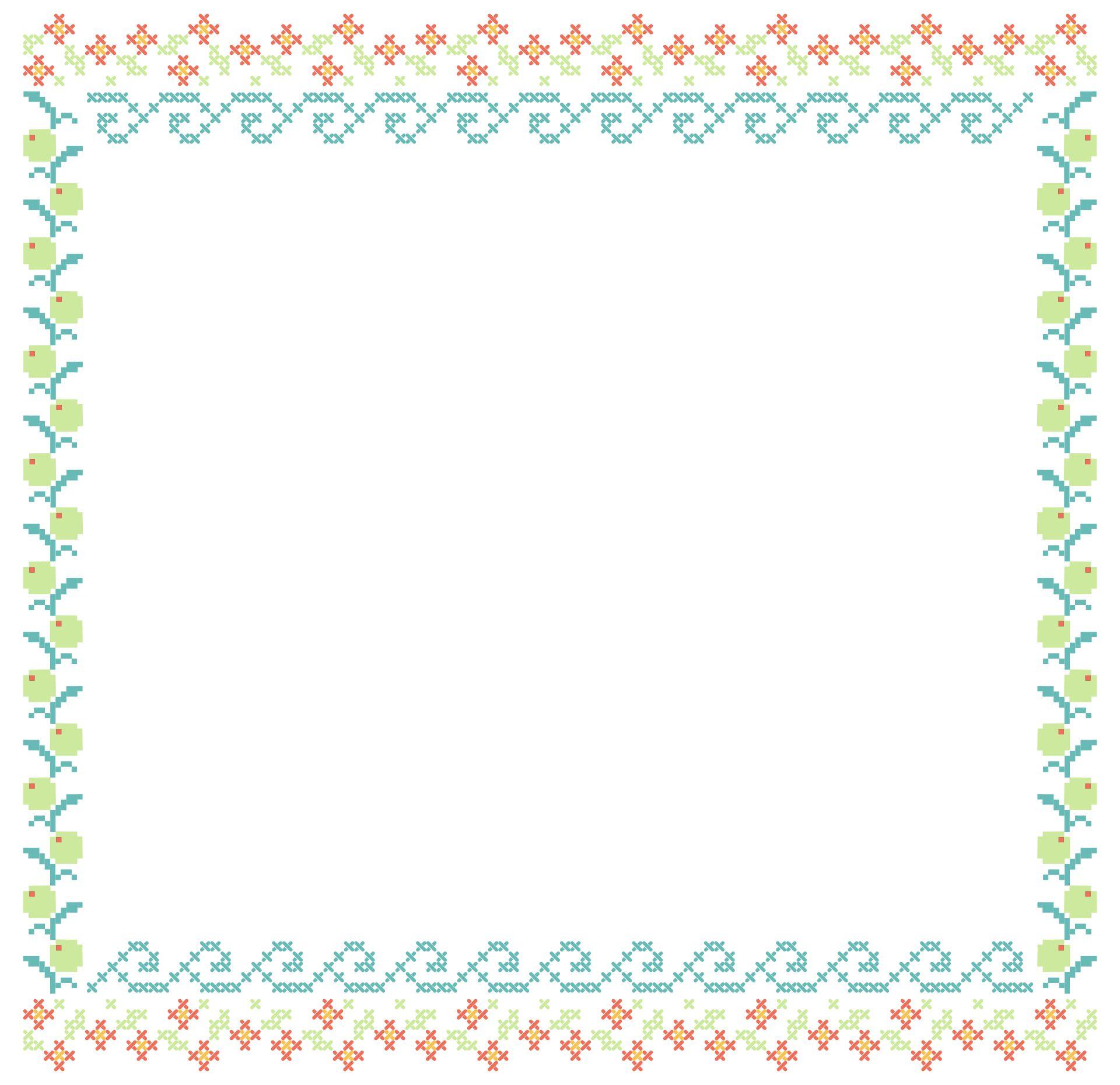 Cross Stitch Border Designs