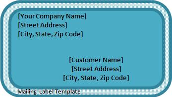 Mail Label Template. usps priority label 228 template silencertalk ...