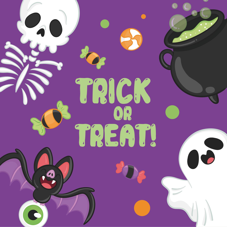 Printable Halloween Trick or Treat