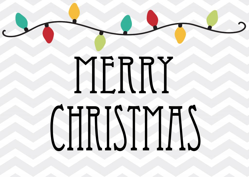 5 best images of free printable merry christmas posters