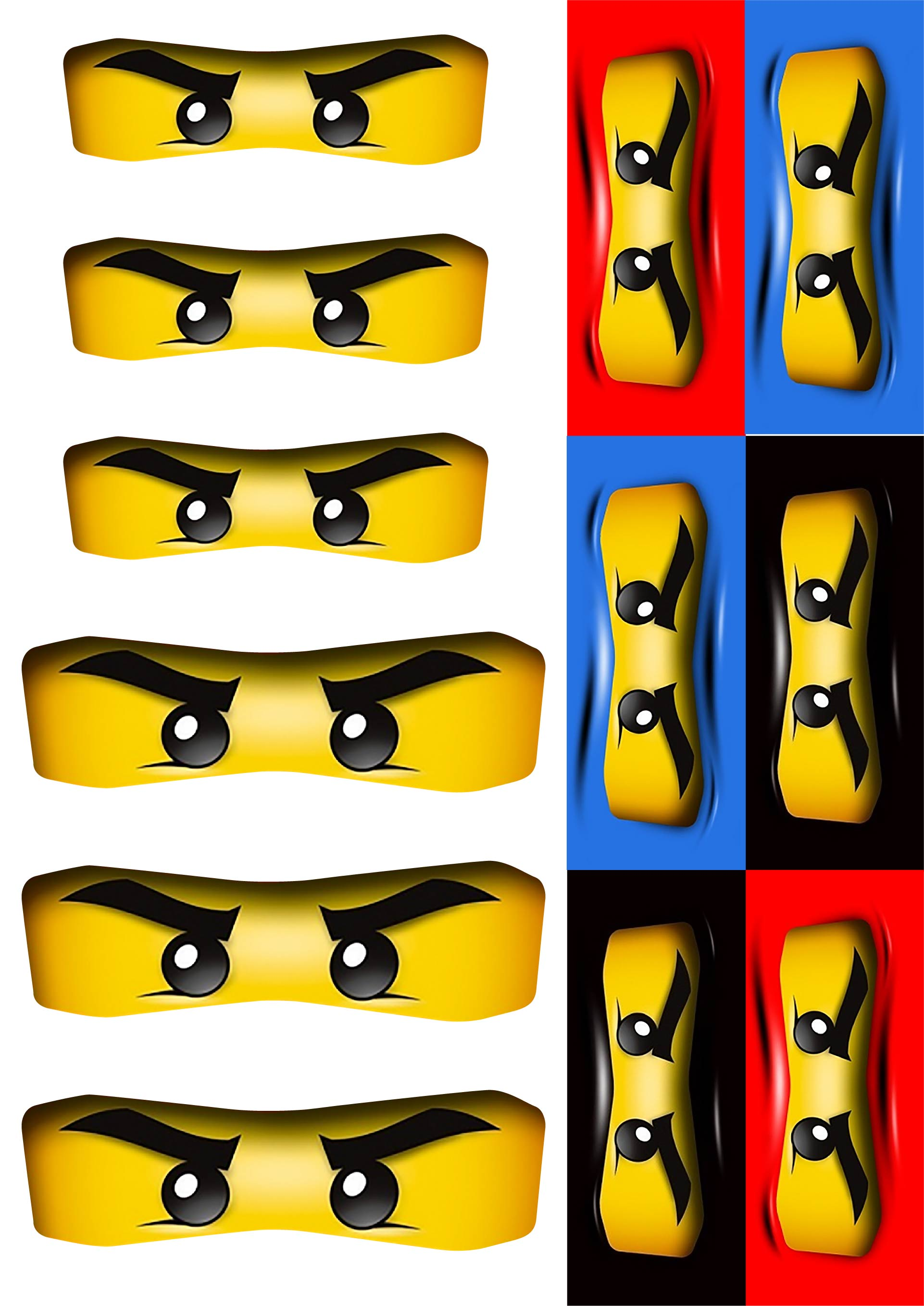 8 Best Images of Ninjago Party Printables - Ninjago Party ...