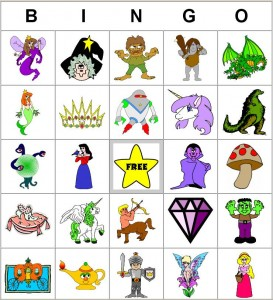 Free Printable Party Bingo Games