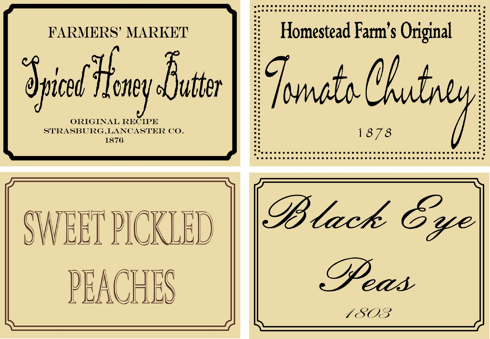 7 Images of Free Printable Prim Labels