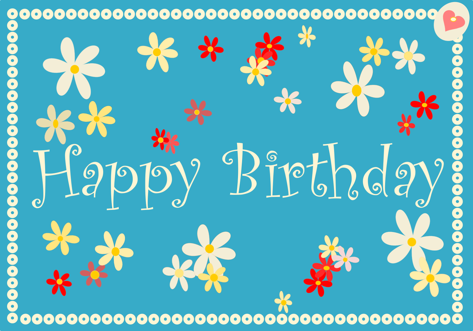 Happy Birthday Cards Free Printables