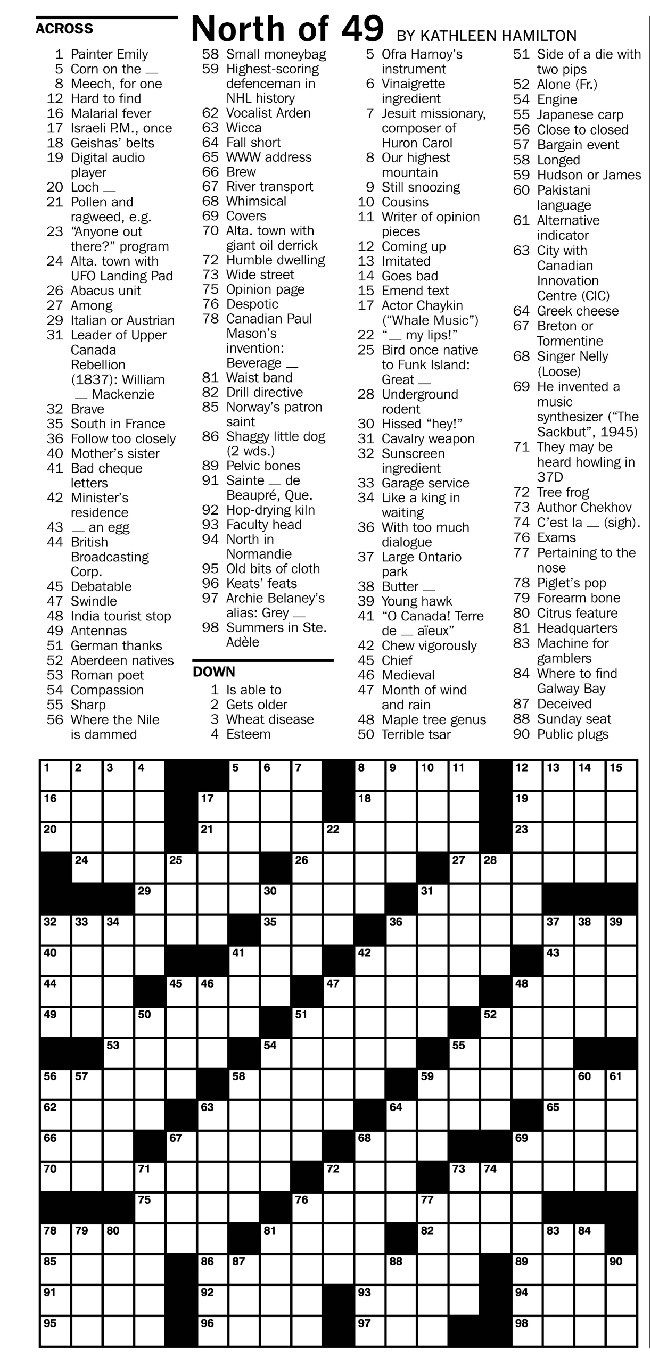 It is a photo of Ambitious Hard Printable Crosswords