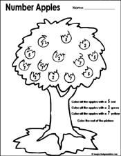 Fall Worksheets For Kindergarten Free - K5 Worksheets