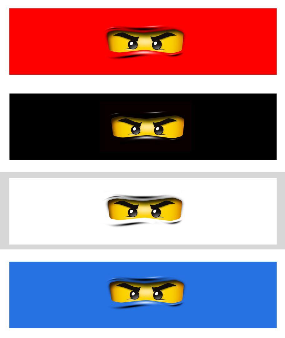 LEGO Ninjago Birthday Party Printables
