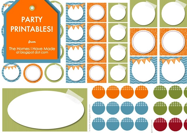 Monster Birthday Party Free Printables