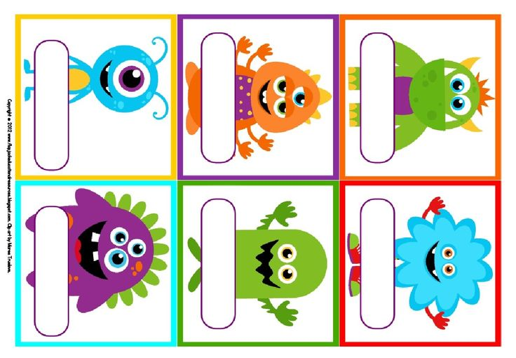 8 Best Images of Free Monster Printables Birthday ...