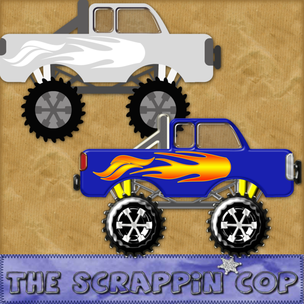 8 Images of Monster Truck Template Printable