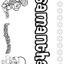 6 Images of Name Printables Santana