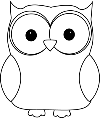 8 Images of Free Printable Owl Clip Art Black And White