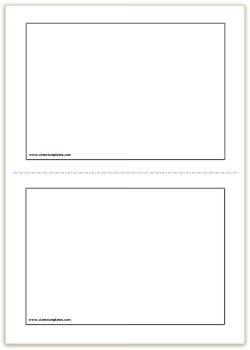printable card template word - thelongwayup.info