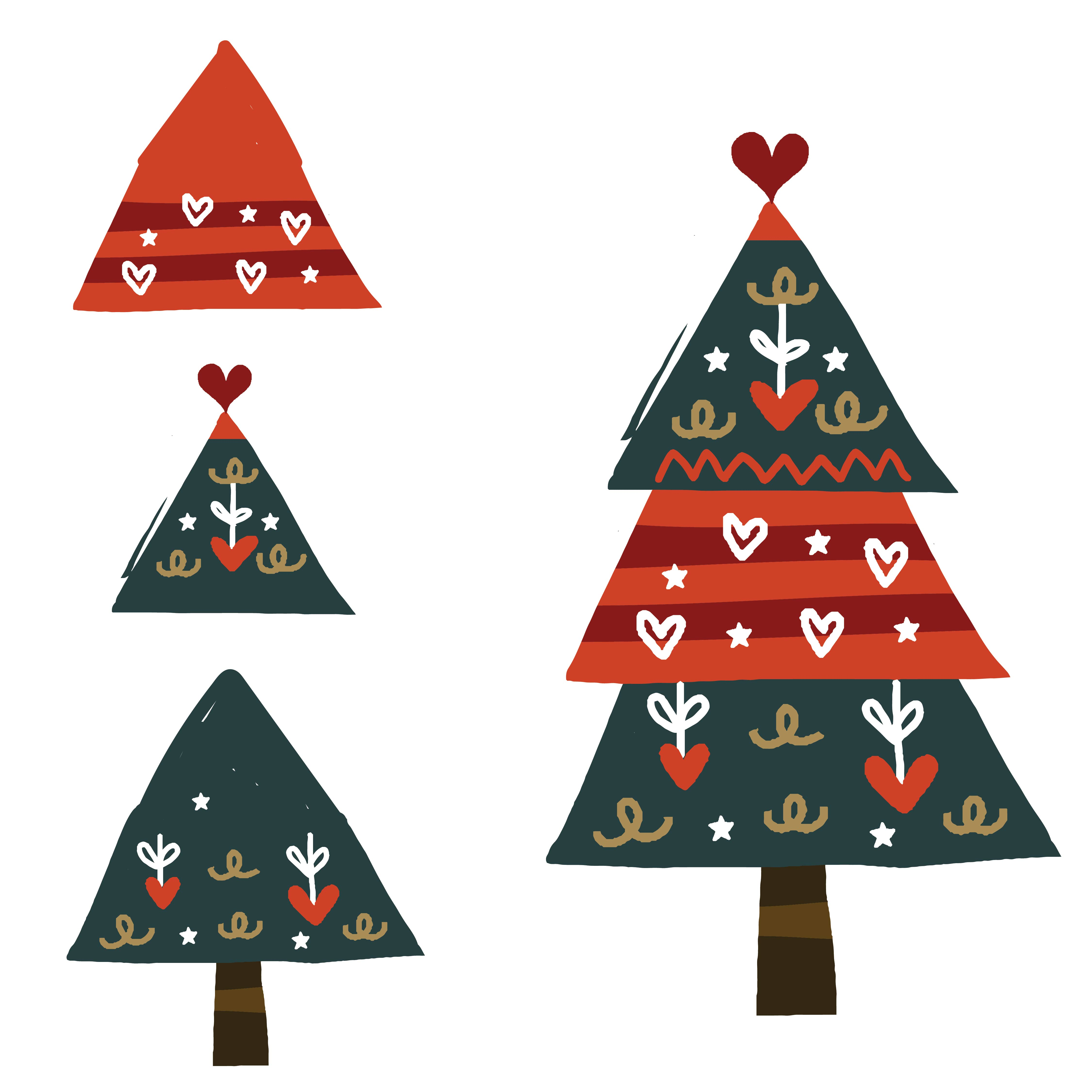 7 best images of preschool printables christmas tree