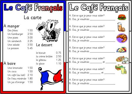 9 Images of Printable French Menus