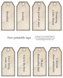 Printable Wishing Tree Tags