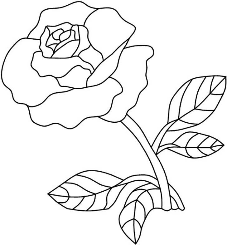5 Images of Rose Mosaic Patterns Printable