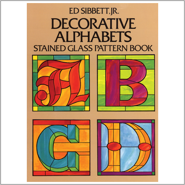 Stained Glass Alphabet Patterns
