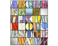 6 Images of Stained Glass Patterns Printable Alphabet
