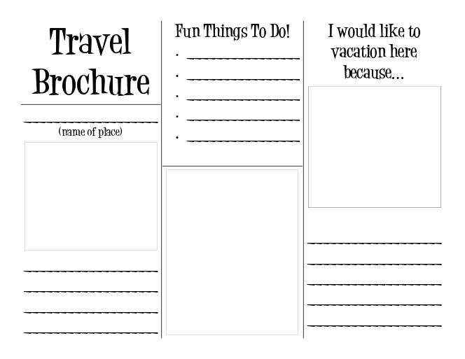 7 Images of Free Travel Printable Templates