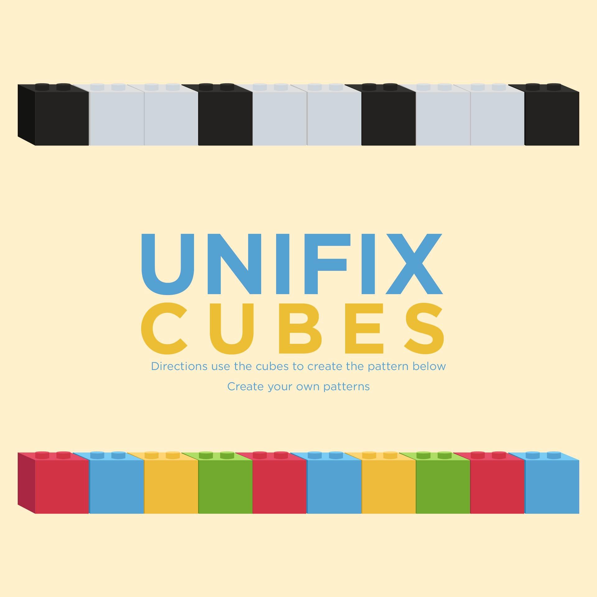5 Best Images of Unifix Cube Template Printable - Unifix Cube ...