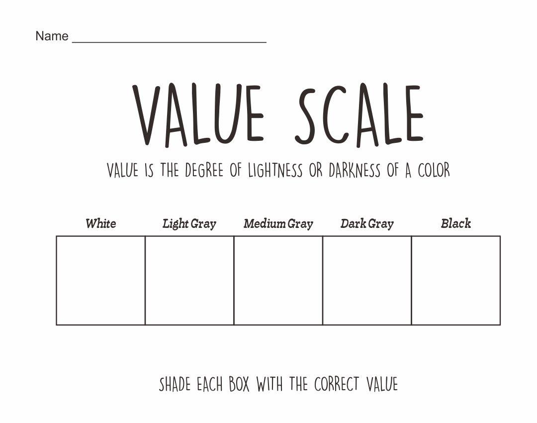 6 Best Value Scale Worksheet Printable   printablee.com