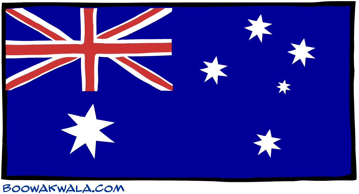 6 Images of Printable Country Flags Australia