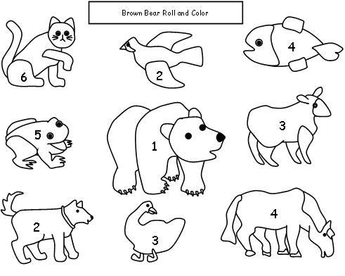 7 Best Images Of Brown Bear Brown Bear Printable Coloring Book Brown Bear Printable Coloring Pages Brown Bear Printable Coloring Pages And Brown Bear What Do You See Coloring Pages Printablee Com